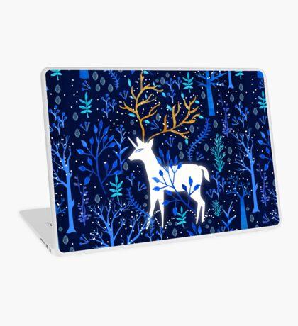Deericorn In Blue Laptop Skin