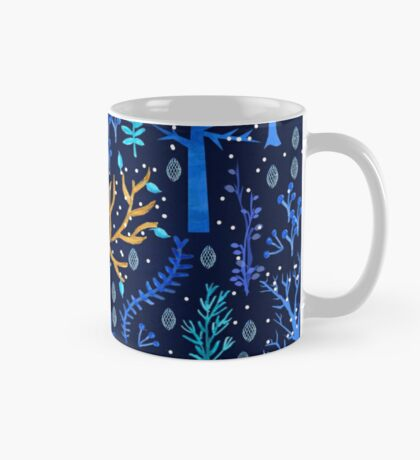 Deericorn In Blue Mug