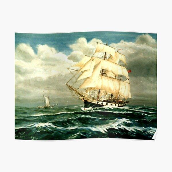 Darwin's Ship, HMS Beagle Poster