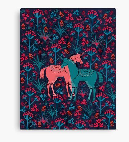 Unicorn Land Canvas Print