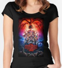 Stranger Things 2 Women's Fitted Scoop T-Shirt