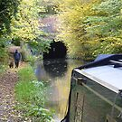 Braunston tunnel on the Grand Union canal by CruisingTheCut