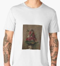 Still Life with Hummingbird by William Merritt Chase Men's Premium T-Shirt