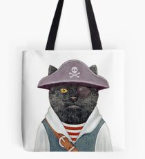 Pirate Cat Tote Bag