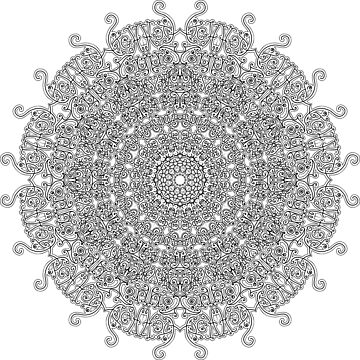 Mandala - A - Sunshine by D-GraphicDesign