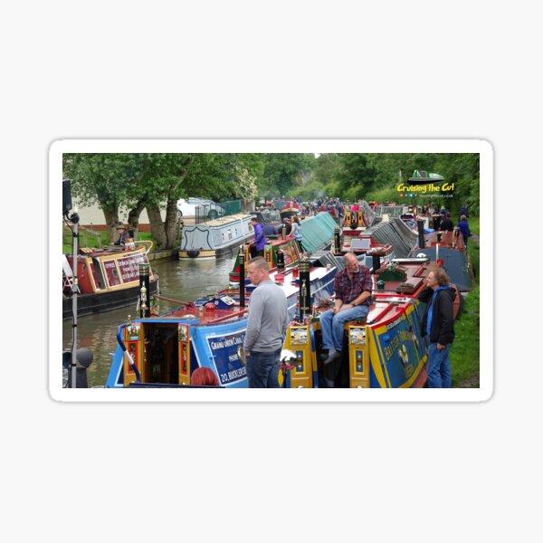 Historic boat rally at Braunston, June 2016 Sticker