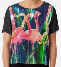 Flamingo-Tanz Chiffontop