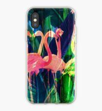Flamingo Dance iPhone Case