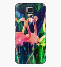 Flamingo Dance Case/Skin for Samsung Galaxy