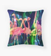 Flamingo-Tanz Kissen