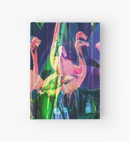 Flamingo Dance Hardcover Journal