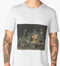 Still-Life with Fruit ca. 1637 by Louise Moillon Men's Premium T-Shirt