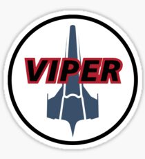 Battlestar Galactica - Viper Mark II  Sticker