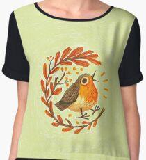 Early Bird Women's Chiffon Top