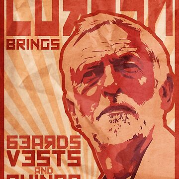 Corbyn Brings Beards, Vest and Quinoa by loudribs