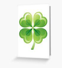 Shamrock - St Patricks Day Greeting Card