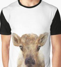 Little Reindeer Graphic T-Shirt