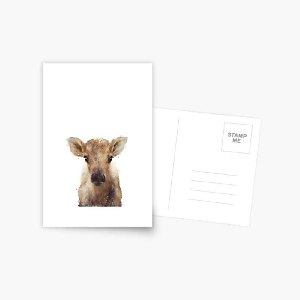 Little Reindeer Postcard