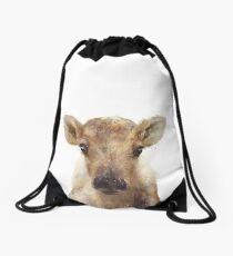 Little Reindeer Drawstring Bag