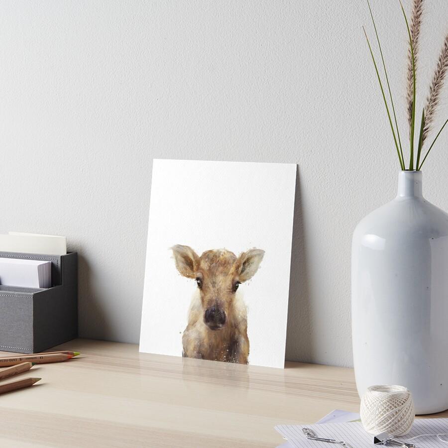 Kleines Rentier Galeriedruck