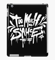 Too Much Sauce mane - Graffiti Tag Style - Gucci iPad Case/Skin