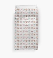 Dreamy Villagers (Animal Crossing) Duvet Cover