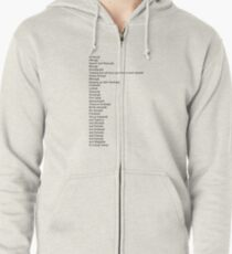 Camp Campbell Camp Activities Zipped Hoodie