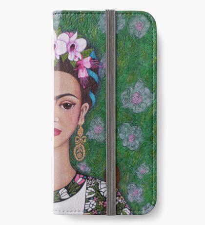 Frida cat lover - closer iPhone Wallet