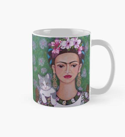 Frida cat lover - closer Mug