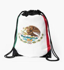 MEXICO, MEXICAN, Mexican Flag, FULL COVER, Flag of Mexico, Bandera de México, Pure & simple Drawstring Bag