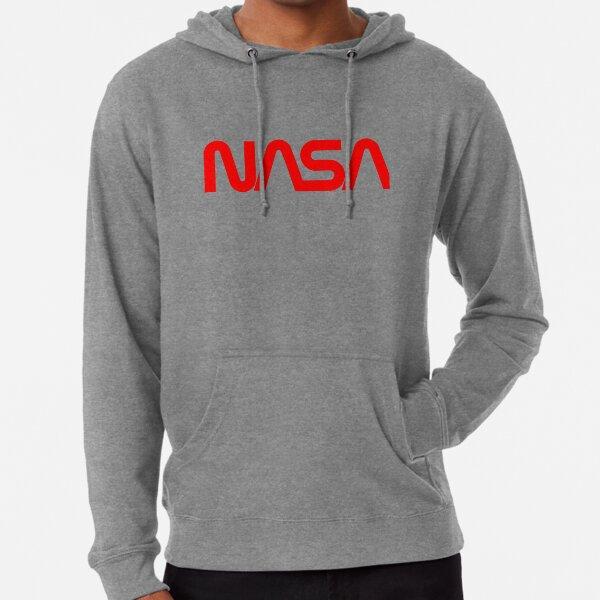 NASA Worm Logo Lightweight Hoodie