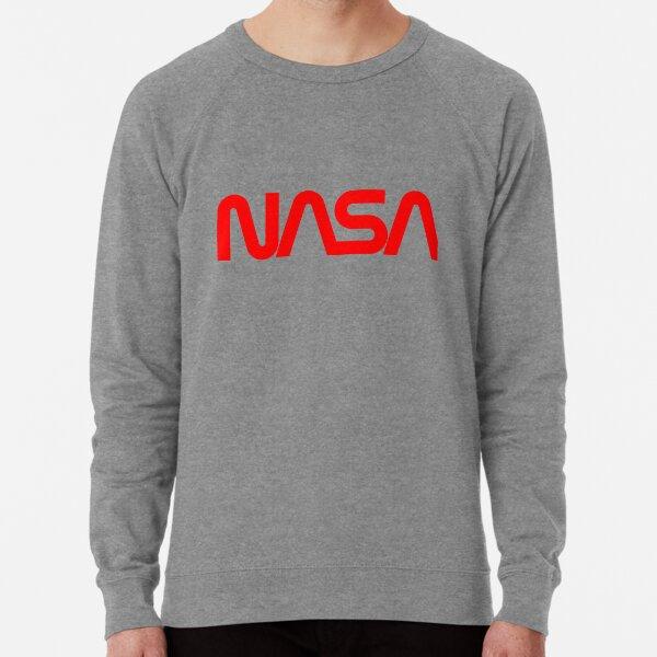Logotipo de gusano de la NASA Sudadera ligera