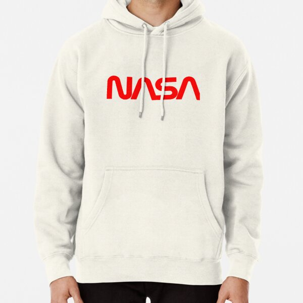 NASA Worm Logo Pullover Hoodie