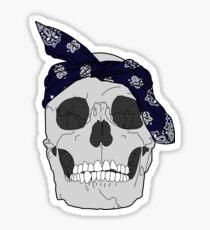 RIP Rap God [In Blue] Sticker