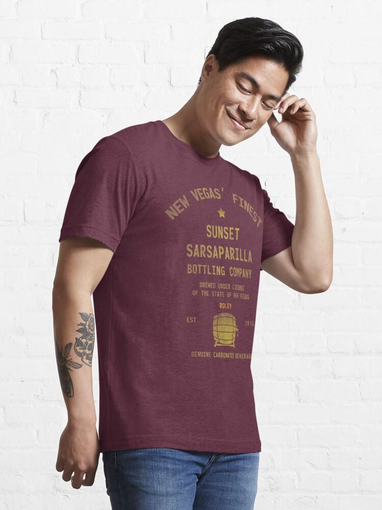 Alternate view of Sunset Sarsaparilla Essential T-Shirt