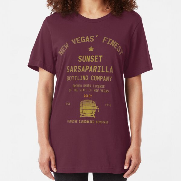Sunset Sarsaparilla Slim Fit T-Shirt