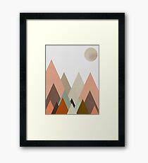nova moon Framed Print