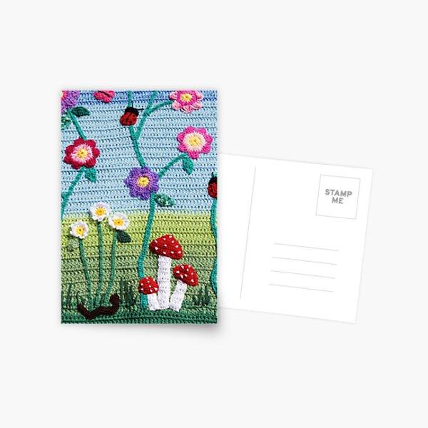 Garden of Imagination Toadstools Postcard