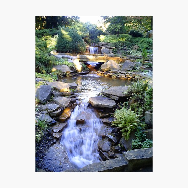 Tranquil Waterfalls Photographic Print