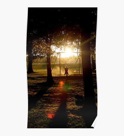 Shadow Swinging Poster