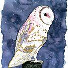 Celestial Owl by kroksg