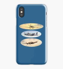 Spitfire Mosquito Lancaster Collage iPhone Case