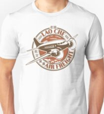 Lao Che Air Freight White Slim Fit T-Shirt