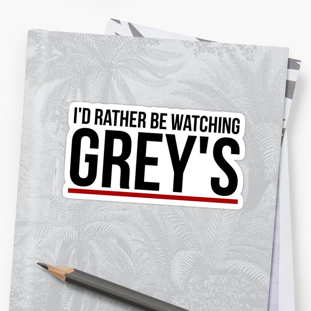 más bien estar viendo gris Pegatinas