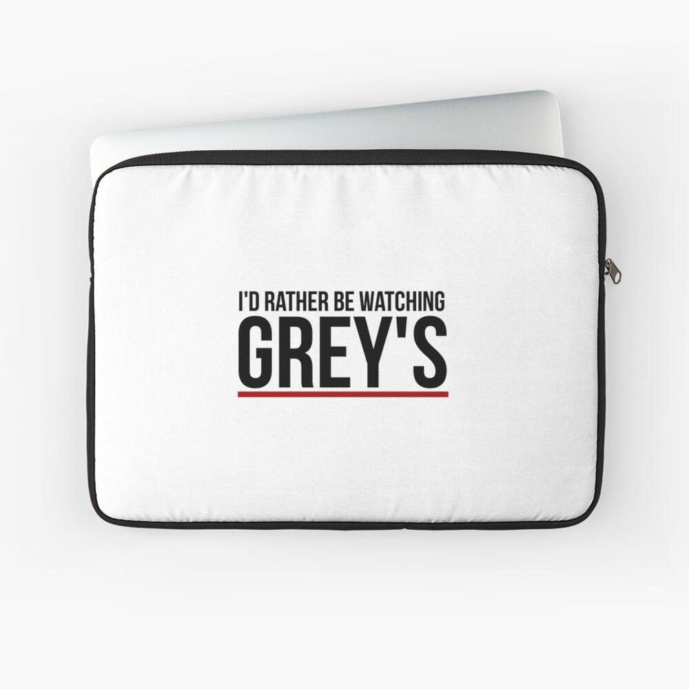 schau lieber grau zu Laptoptasche