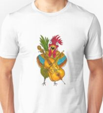 Screeching Rooster Unisex T-Shirt