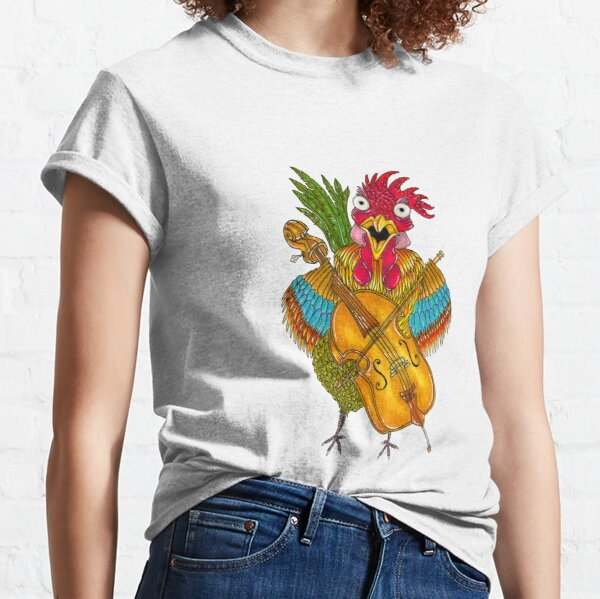 Screeching Rooster Classic T-Shirt