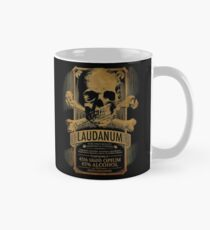 Laudanum Medical Gothic Steampunk Label Tasse (Standard)