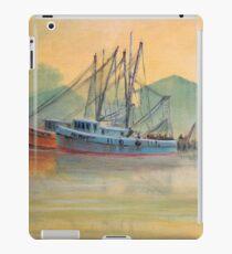 Tarpon Springs Florida - Sponge Docks iPad Case/Skin
