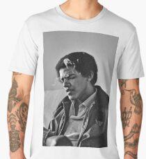 Young Barack Obama - Smoking Print Men's Premium T-Shirt